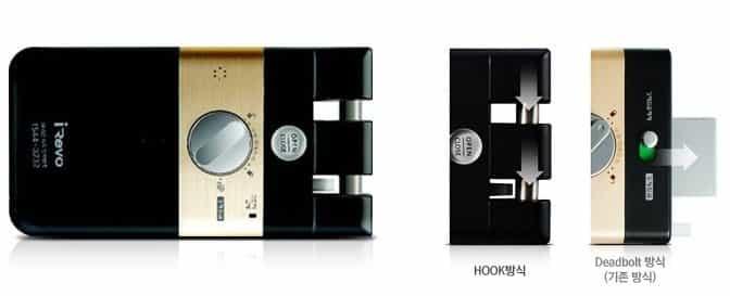 قفل دیجیتال گیت من مدل S10-FD کارتی بدون دستگیره (شب بند دیجیتال)