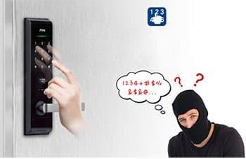 سیستم حریم خصوصی در قفل دیجیتال