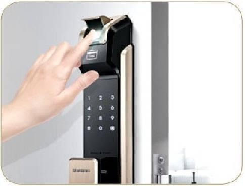 قفل دیجیتال اثرانگشتی (قفل الکترونیکی رمز و اثرانگشتی)