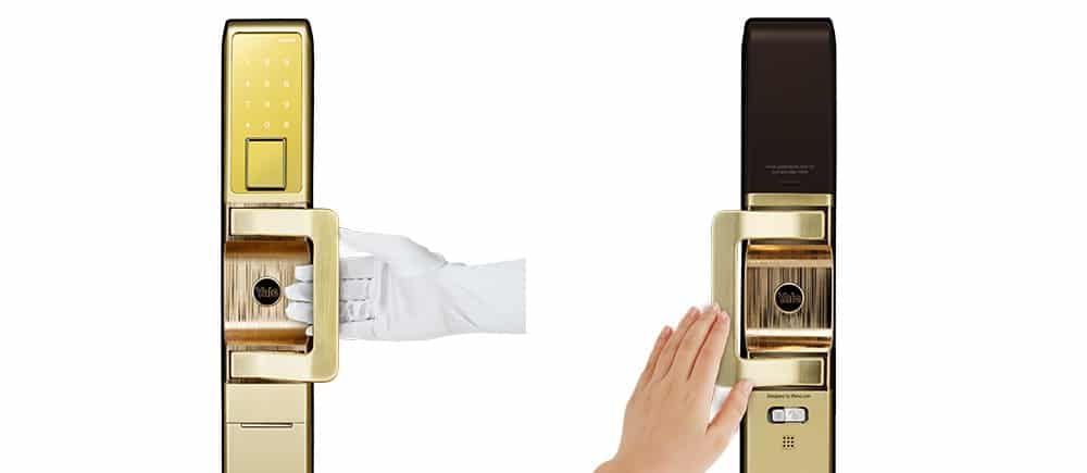 قفل دیجیتال PULL و PUSH یال