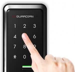 دسترسی به درب توسط رمز عبوری