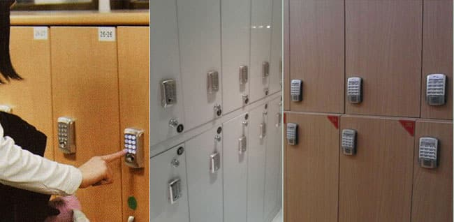 قفل دیجیتال استخری (قفل الکترونیکی کمدی)