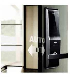 سیستم قفل اتوماتیک در قفل دیجیتال