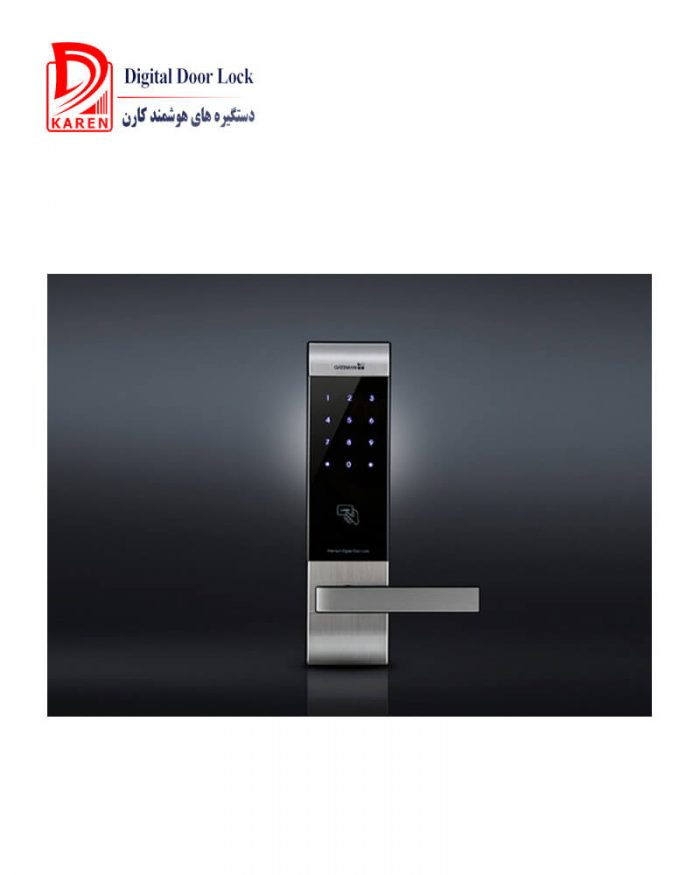 قفل دیجیتال گیت من مدل V100-F کارتی و رمزدار مجهز به قفل پیشرفته مگاترونیکی
