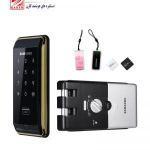 قفل دیجیتال سامسونگ مدل SHS-D500 کارتی و رمزی بدون دستگیره (شب بند دیجیتال)