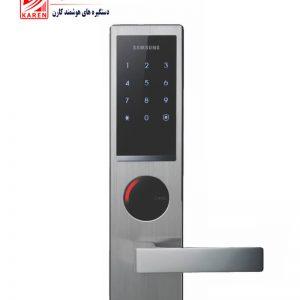 قفل دیجیتال سامسونگ مدل SHS-H630 رمزی و کارتی با بدنه استیل ضد زنگ