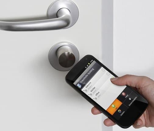 کلیدهای هوشمند قفل الکترونیکی