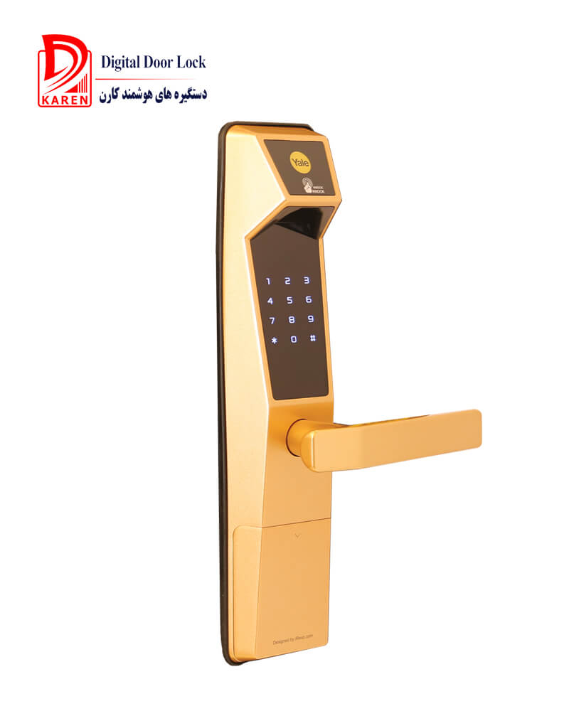 قفل دیجیتال ییل مدل YDM4111 اثر انگشتی مجهز به شب بند