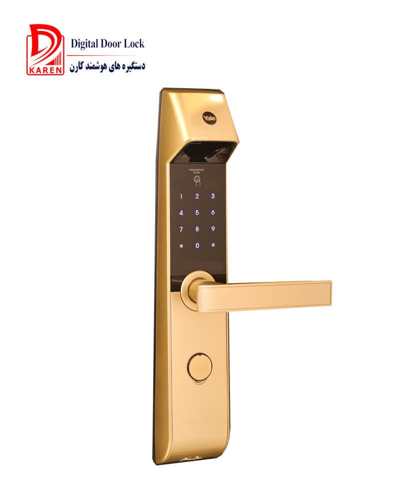 قفل دیجیتال ییل مدل YDM4216 اثر انگشتی با قفل اتوماتیک