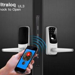 قفل اثرانگشتی پیشرفته Ultraloq UL3 BT