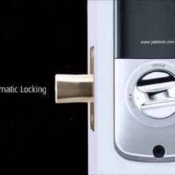 سیستم قفل اتوماتیک موجود در قفل دیجیتال
