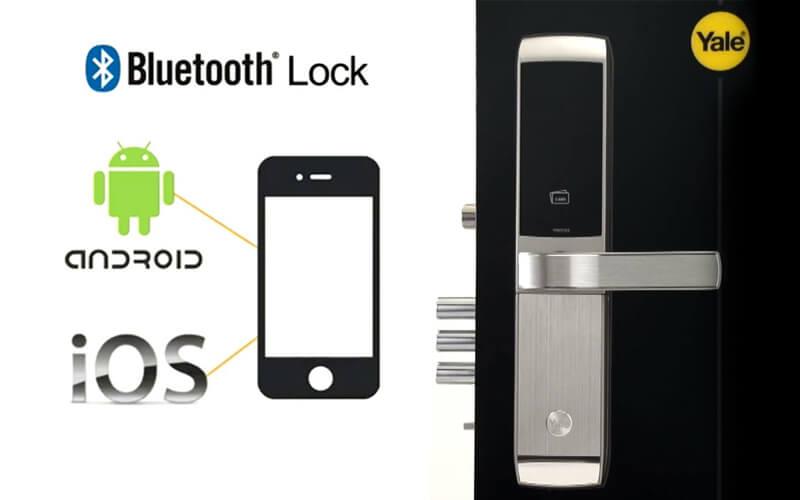 قفل دیجیتال بلوتوثی بدون کلید
