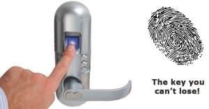 قفل درب اثرانگشتی