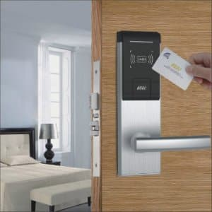 قفل الکترونیکی هتلی و فن آوری به کار رفته در آن