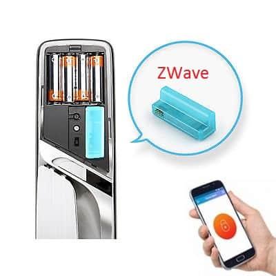 کنترل دستگیره درب دیجیتال توسط گوشی هوشمند
