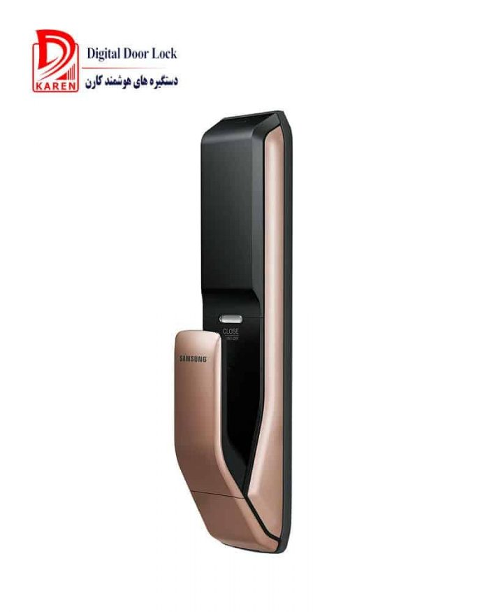 قفل الکترونیکی هوشمند کارتی و اثر انگشتی سامسونگ مدل SHP-DP930