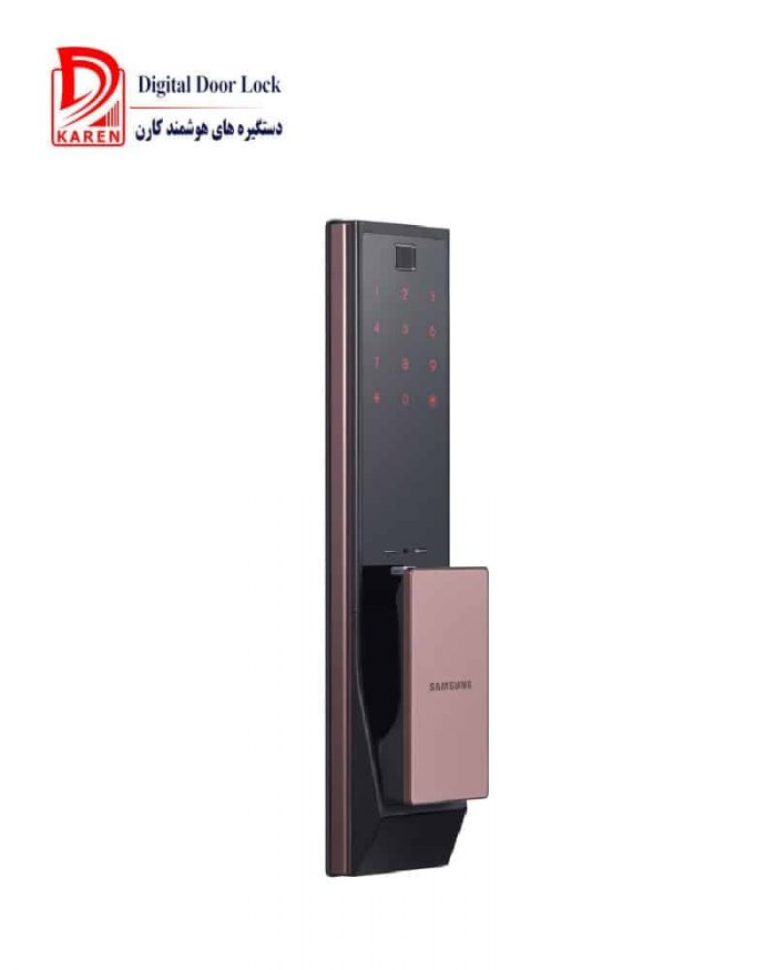 قفل دیجیتال هوشمند اثر انگشتی و کارتی سامسونگ مدل SHP-DP950