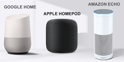 آمازون اکو یا Home Pod اپل، کنترل صوتی وسایل