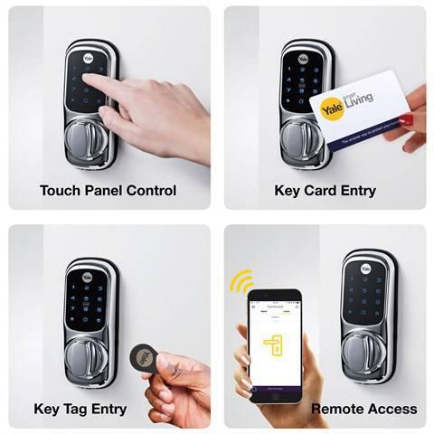 قفل هوشمند ، بهترین گزینه برای درب ضد سرقت دو لنگه