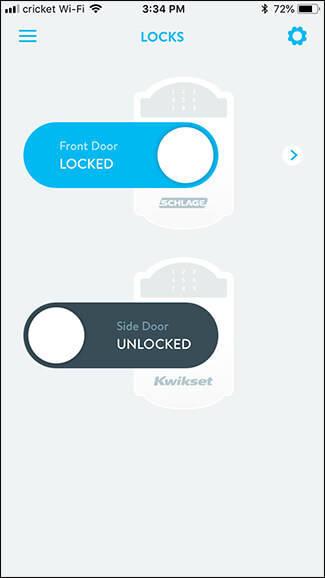 کنترل و مدیریت قفل kwikset از راه دور