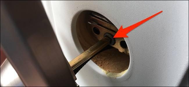 اتصال بدنه خارجی قفل kwikset به سیلندر