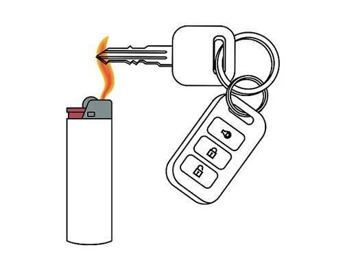 گرم نمودن کلید
