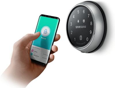 کنترل از راه دور قفل سامسونگ توسط موبایل