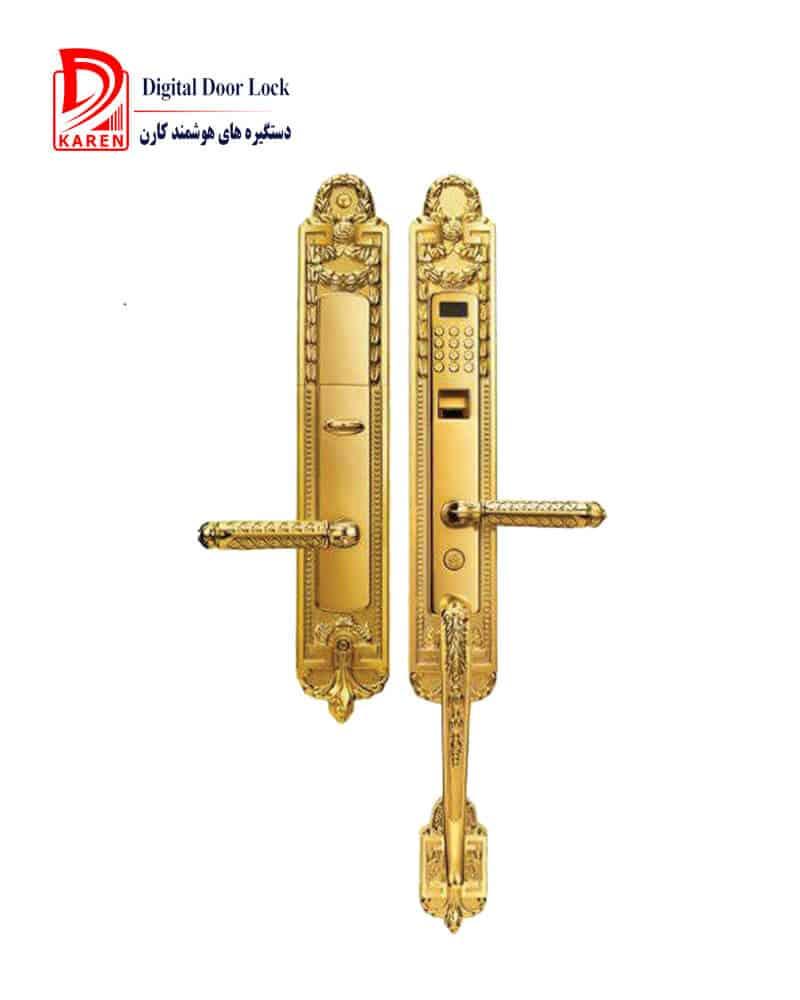 دستگیره درب اثرانگشتی ، بهترین و امن ترین روش دسترسی به درب ورودی