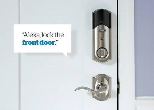 دسترسی به درب ورودی ساختمان توسط دستورات صوتی
