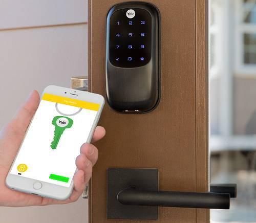 قفل الکترونیک بدون کلید به همراه نرم افزار هوشمند یال