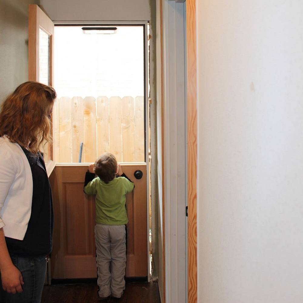درب هلندی محافظ کودک
