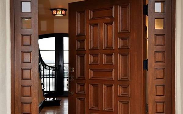 بخش های مختلف درب ورودی ساختمان