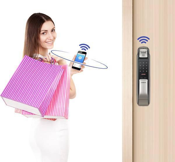دسترسی به درب ورودی توسط تلفن همراه