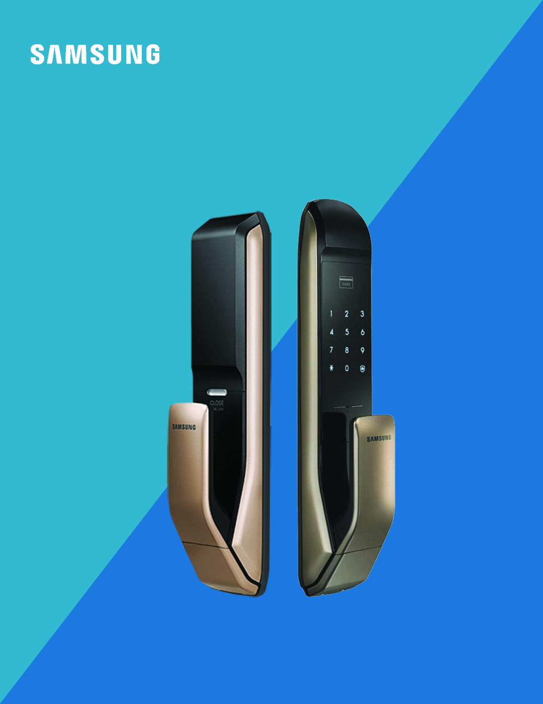 قفل دیجیتال سامسونگ مدل DP820