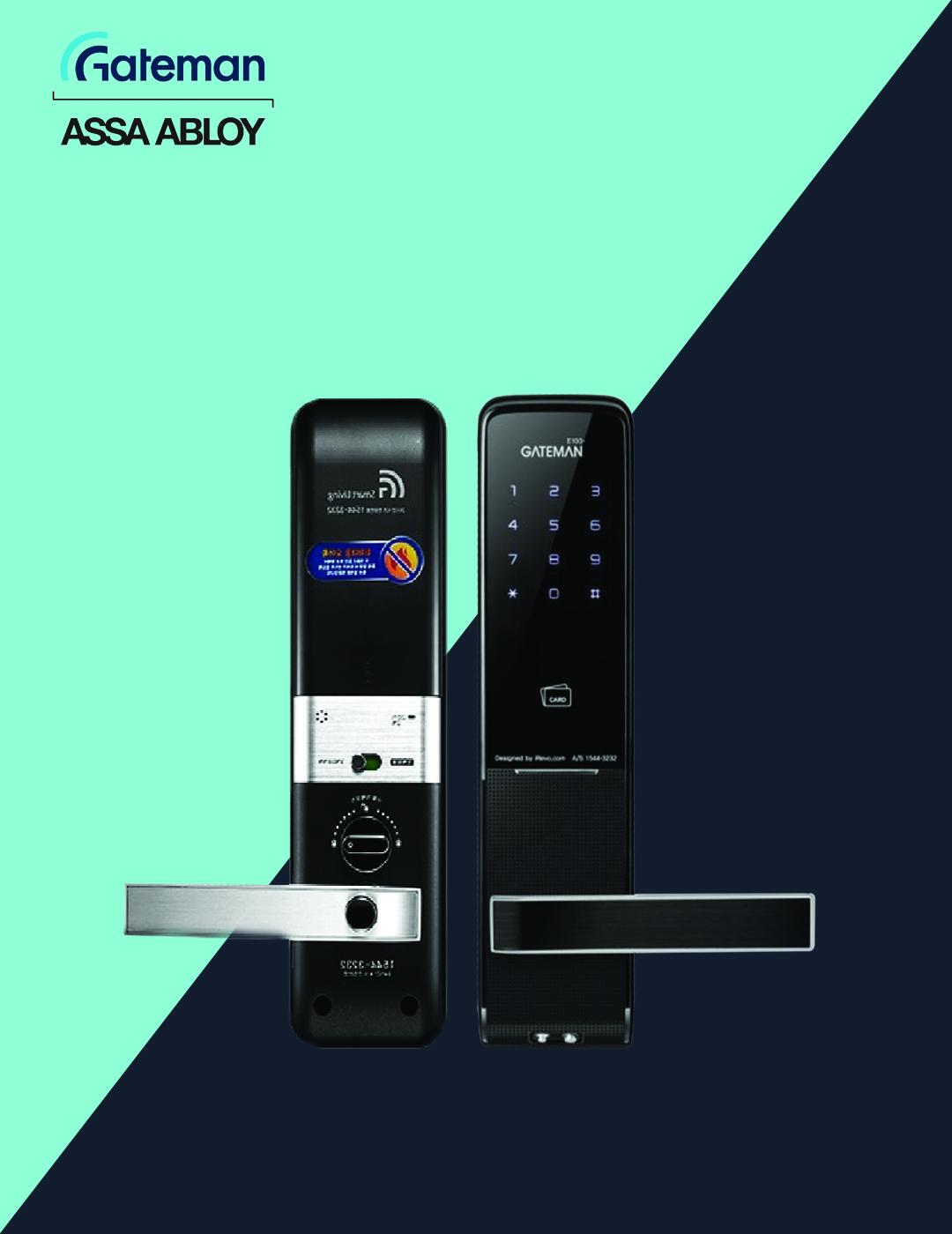 قفل دیجیتال گیت من مدل E100