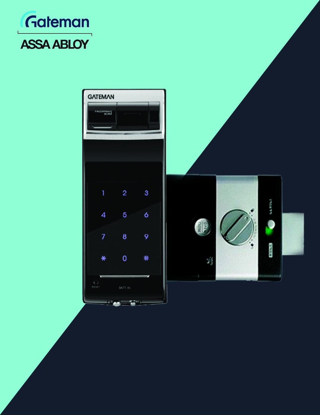 قفل دیجیتال گیت من مدل F10