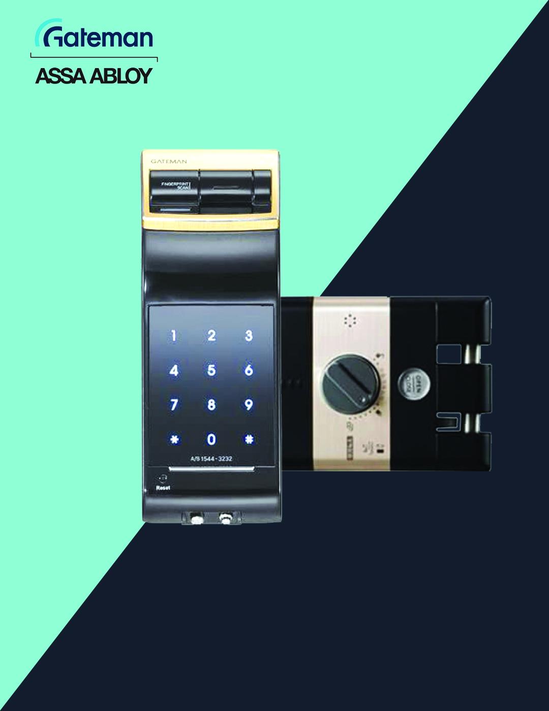 قفل دیجیتال گیت من مدل F50
