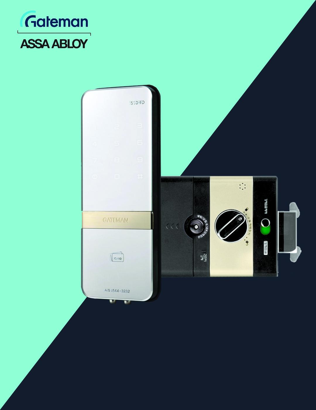 قفل دیجیتال گیت من مدل S10