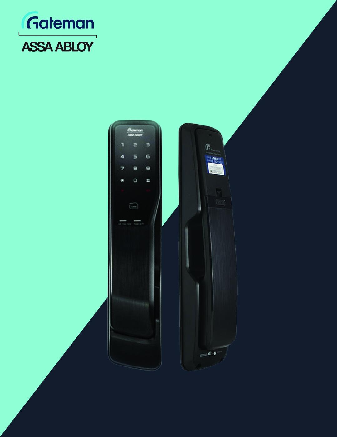 قفل دیجیتال گیت من مدل WB200