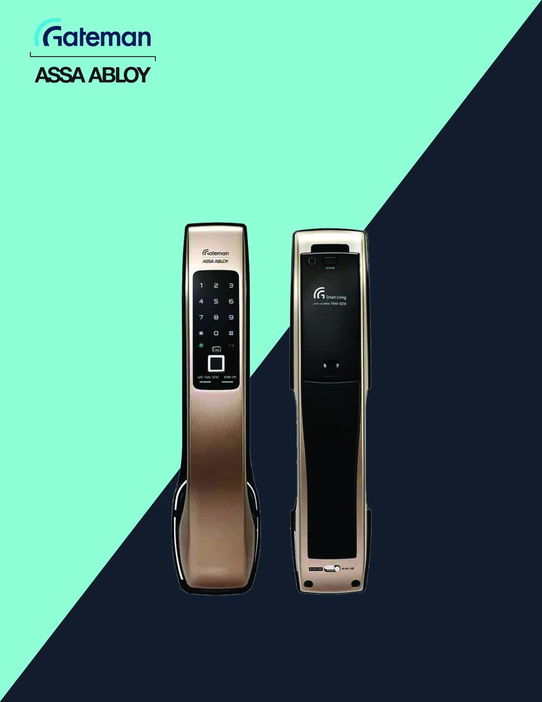 قفل دیجیتال گیت من مدل X300