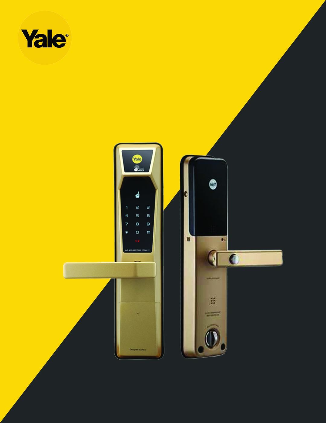 قفل دیجیتال یال مدل YDM4111