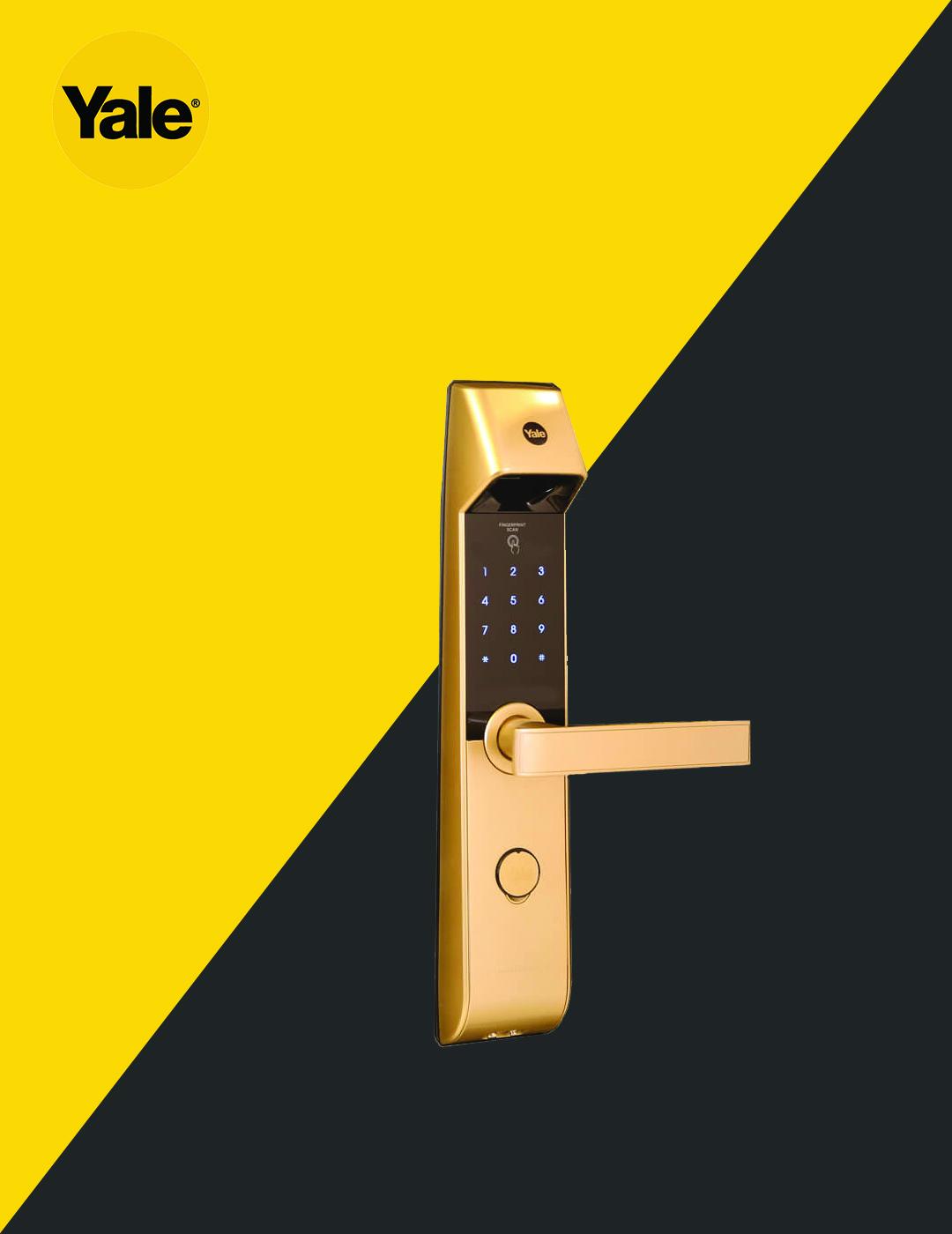 قفل دیجیتال یال مدل YDM4216