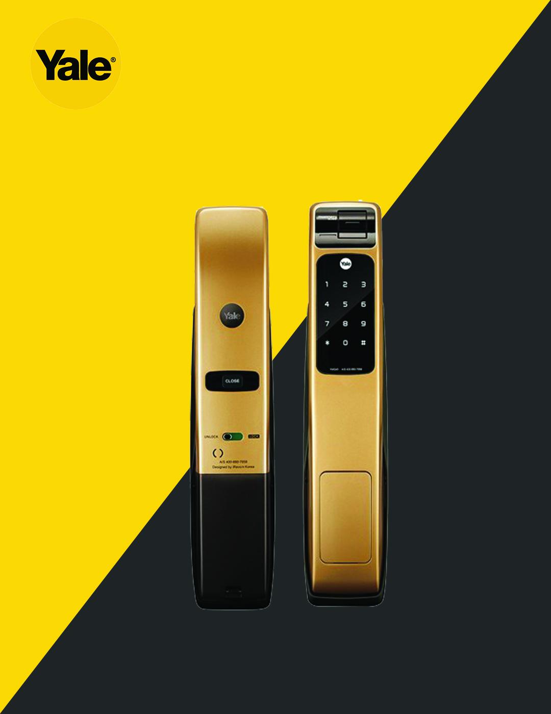 قفل دیجیتال یال مدل YMG40