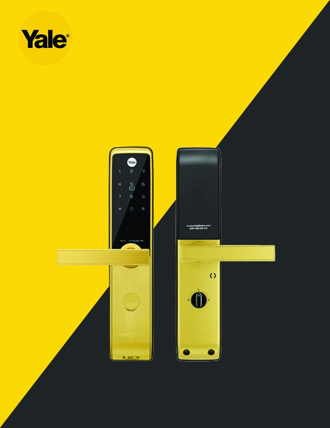 قفل دیجیتال یال مدل ZEN R