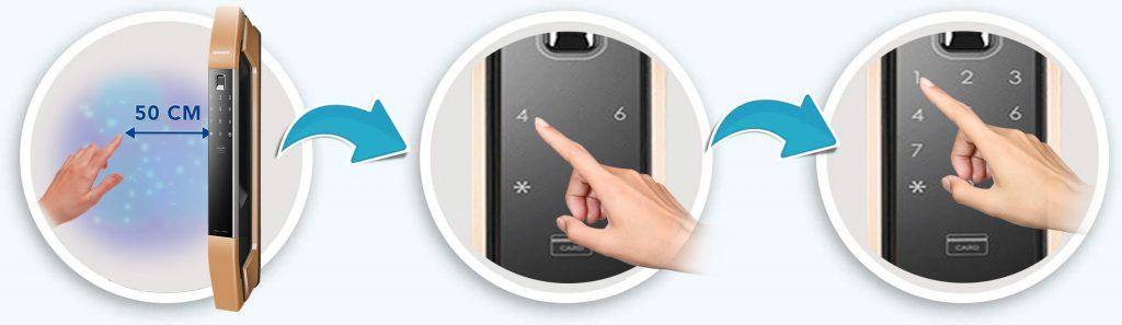 سنسور آی آر قفل دیجیتال سامسونگ DP808