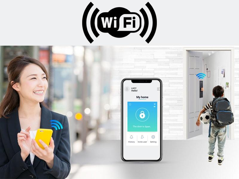 دسترسی توسط وای فای
