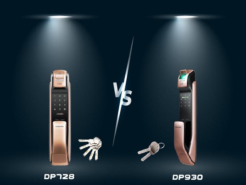 مقایسه قفل دیجیتال سامسونگ