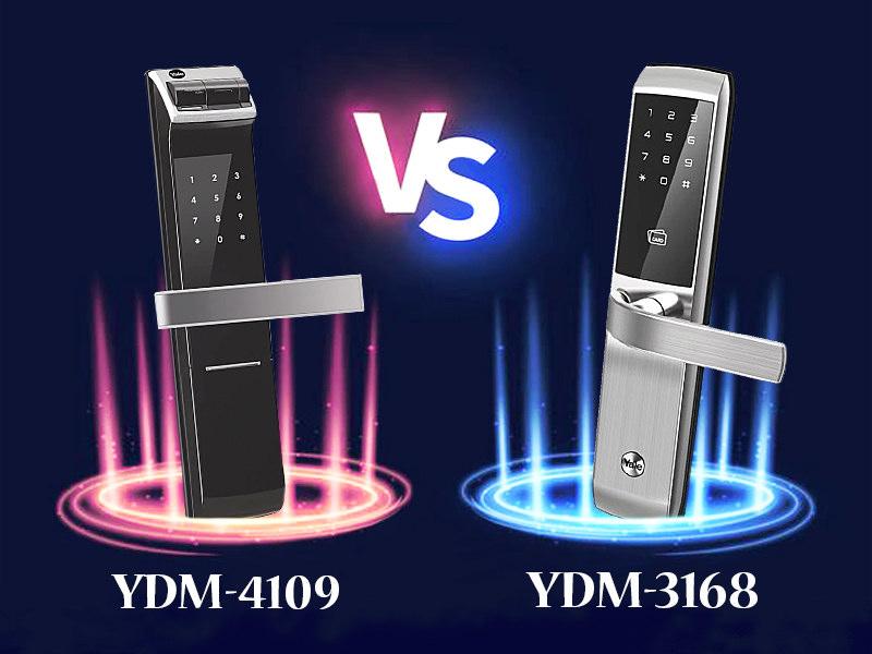 مقایسه قفل دیجیتال یال 4109 با 3168