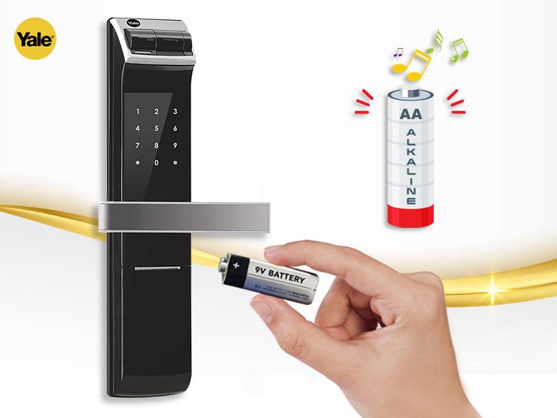 باتری قفل دیجیتال یال