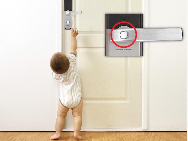 قفل کودک یال